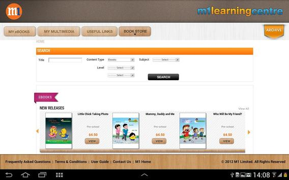 M1 Learning Centre apk screenshot