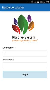 REsolve Resource Locator (RL) poster