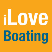 I Love Boating - Old icon