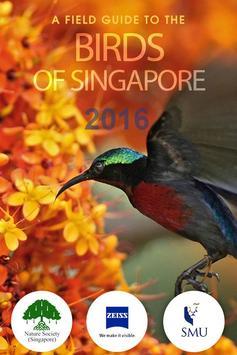 Birds of Singapore 2016 poster