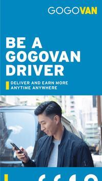 GOGOVAN – Driver App poster
