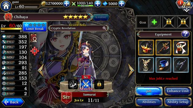 THE ALCHEMIST CODE apk screenshot