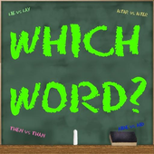 Which Word 1 icon