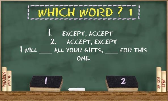 Which Word 1 apk screenshot