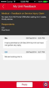 MyUnitFeedback apk screenshot