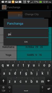 Panchanga screenshot 1