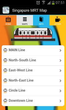 Singapore MRT Map apk screenshot