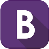 Learning Bootstrap icon