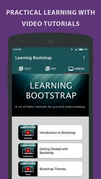 Learning Bootstrap screenshot 2