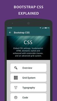 Learning Bootstrap - Tutorial apk screenshot
