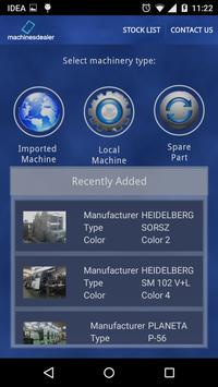 MachinesDealer apk screenshot