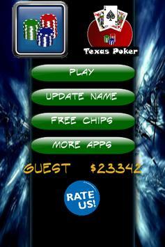 Texas holdem Free apk screenshot