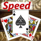 Speed - Spit Card Game Free icon