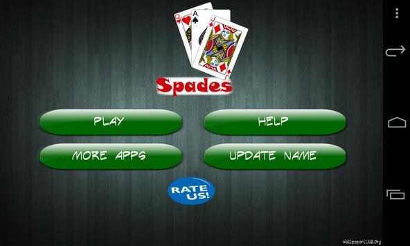 Spades Free apk screenshot