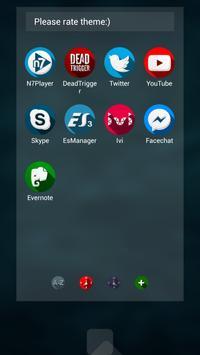 Next Launcher Theme Shado3D apk screenshot