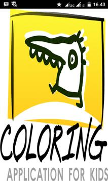 Coloring Aplication For Kids poster