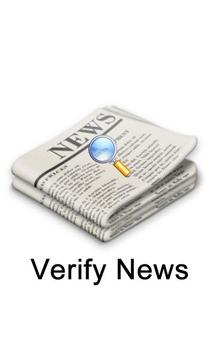 News Verification poster