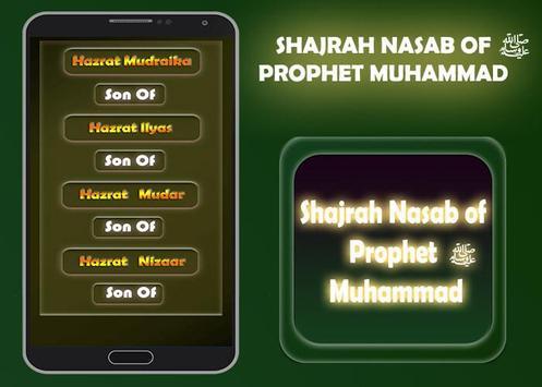 Shajrah Nasab of Prophet Muhammad screenshot 1