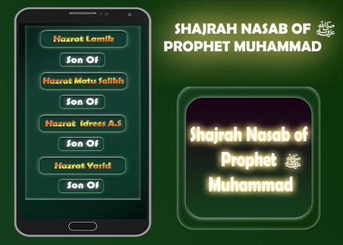 Shajrah Nasab of Prophet Muhammad screenshot 3