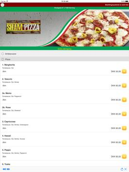 Sham Pizza Herning screenshot 4
