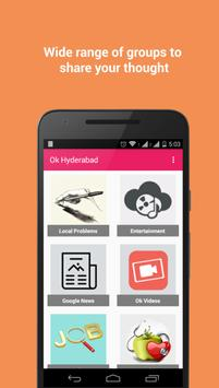 Ok Hyderabad apk screenshot