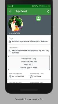 Pak Ride Share screenshot 1