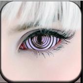 Real Rinnegan Sharingan Eyes icon