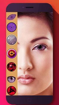 Real Rinnegan Sharingan Eyes poster