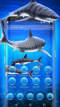 3D tiger sharks theme screenshot 1
