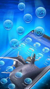 3D tiger sharks theme screenshot 2