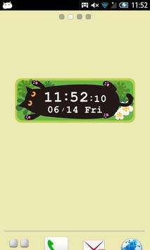 へそてんMOSHINEKO時計 poster
