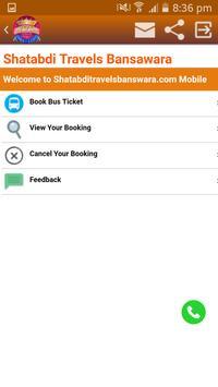 SHATABDI TRAVELS apk screenshot