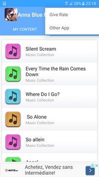 Anna Blue Songs screenshot 2
