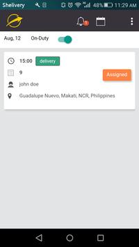 Shipping and Delivery Driver App screenshot 2