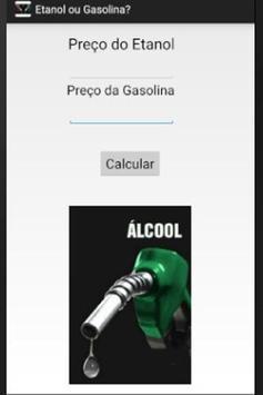 Etanol ou Gasolina? screenshot 1