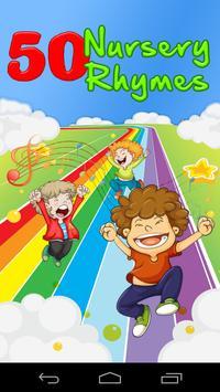50 Nursery Rhymes Poster