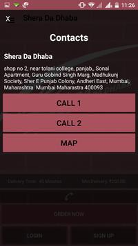Shera Da Dhaba apk screenshot