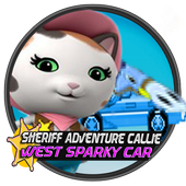 Sheriff Adventure Callie-West Sparky Car icon