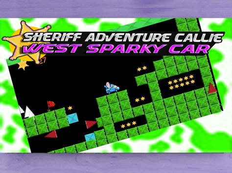 Sheriff Adventure Callie-West Sparky Car apk screenshot