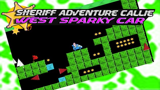 Sheriff Adventure Callie-West Sparky Car poster