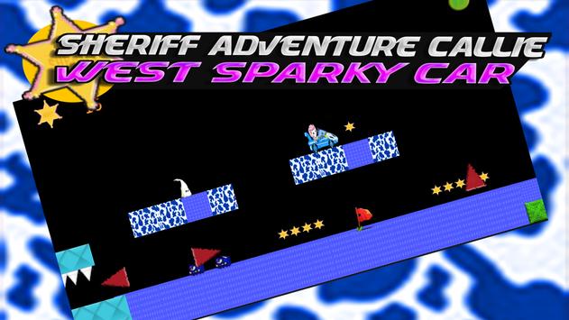 Sheriff Adventure Callie-West Sparky Car screenshot 1