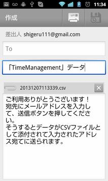 TimeManagementPlusLite apk screenshot