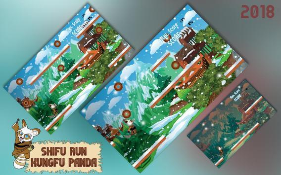 Shifu Run Kungfu Panda apk screenshot