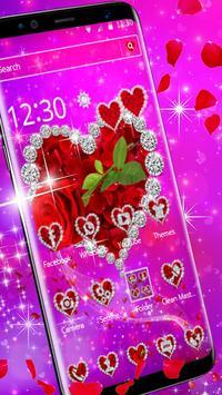 Shiny Rose Diamond Theme poster