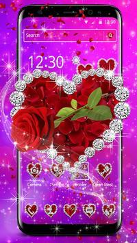 Shiny Rose Diamond Theme screenshot 5