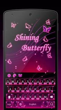 Shining Butterfly poster