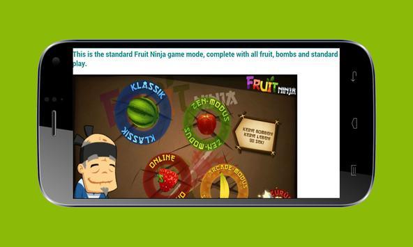 Guide For Fruits Ninja screenshot 3
