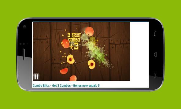 Guide For Fruits Ninja screenshot 4