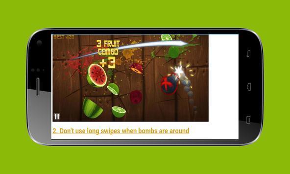 Guide For Fruits Ninja screenshot 5