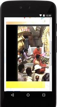 Shirdi sai baba live Darshan & Sai Baba Wallpapers poster